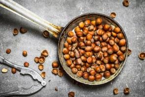 How to roast hazelnut