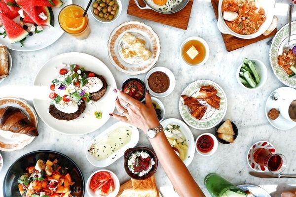 Breakfast on the Bosphorus