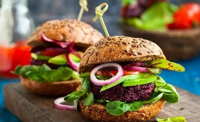 How To Make Beetroot Burger