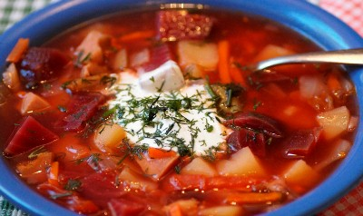 How to store borscht