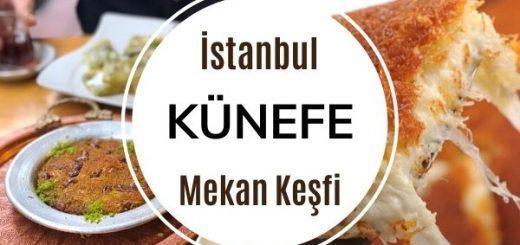 11 Addresses of Legendary Kunefe in Istanbul