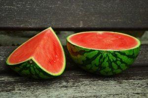 peel a watermelon