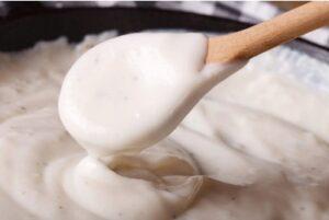 Bechamel Sauce Without Milk