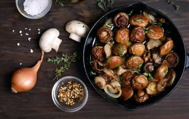 How to Bake Mushrooms