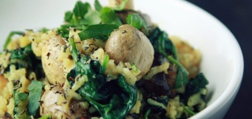 How to Wok Spinach