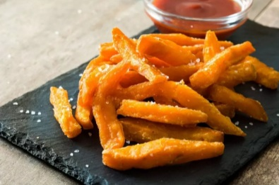 How to make sweet potato fries