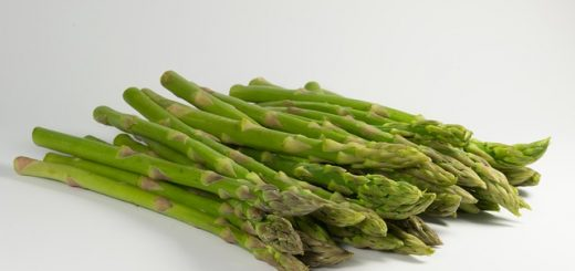 grilling green asparagus
