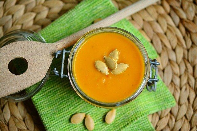 pumpkin soup herbs