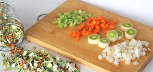 Pictorial Cutting and Chopping Techniques in the Kitchen