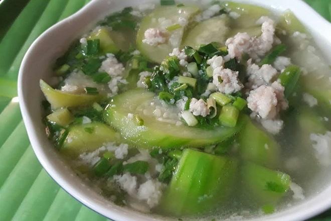 melon soup dishes