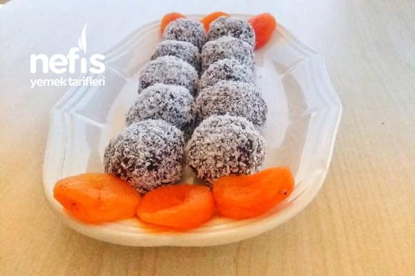 Fit Apricot Balls (No Sugar)