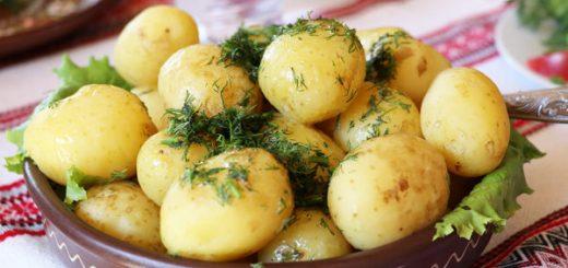 Calories in Boiled Potatoes