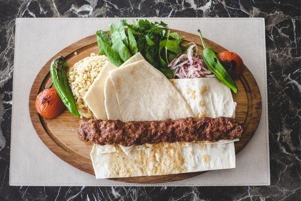 Adana Wrap Kebab
