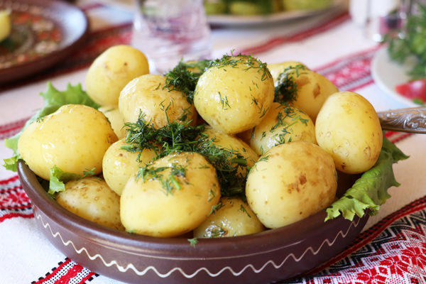 How Many Calories in Boiled Potatoes