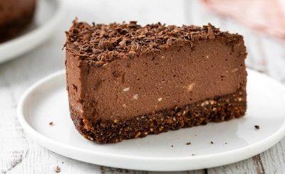 Cold chocolate cake
